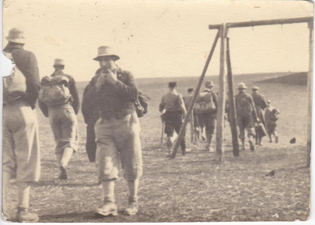 Abb.12: Rückweg nach Geislingen, eskortiert von SA und Landjägern, 26.03.1933