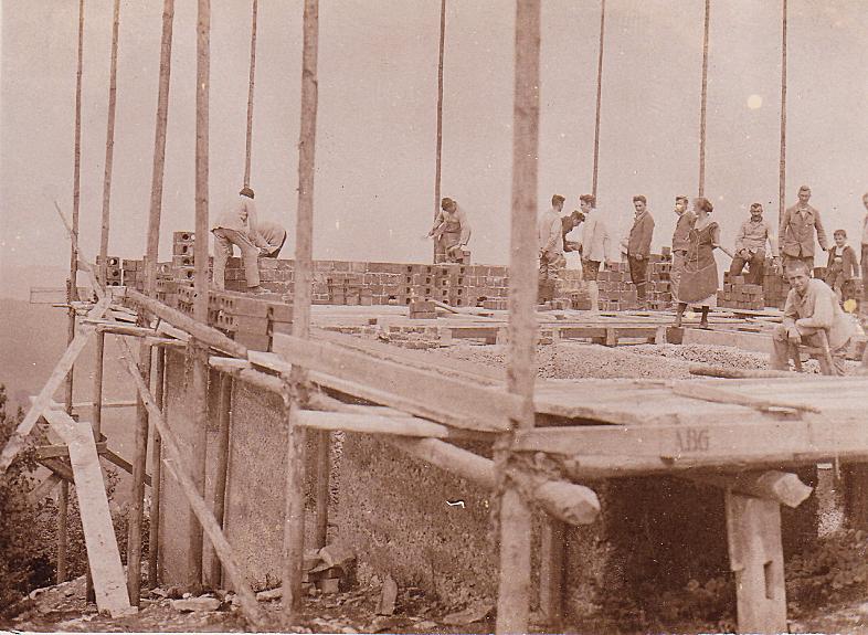 Abb.7: Bau der Immenreute, 13.06.1926