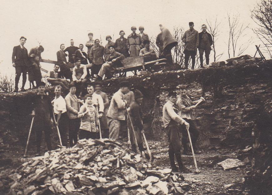 Abb.6: Bau der Immenreute, 14.03.1926