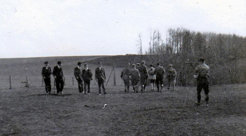 Abb.13: Rückweg nach Geislingen, eskortiert von SA und Landjägern, 26.03.1933