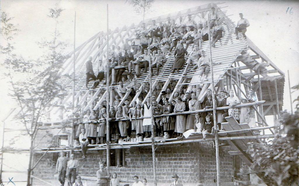 Abb.8: Richtfest der Immenreute, 27.06.1926