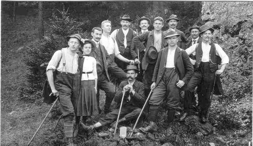 Abb.3: Wanderung August 1913